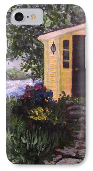 Historic Fishing Village Phone Case by Annie St Martin