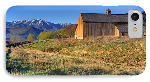 Historic Francis Tate Barn - Wasatch Mountains IPhone Case