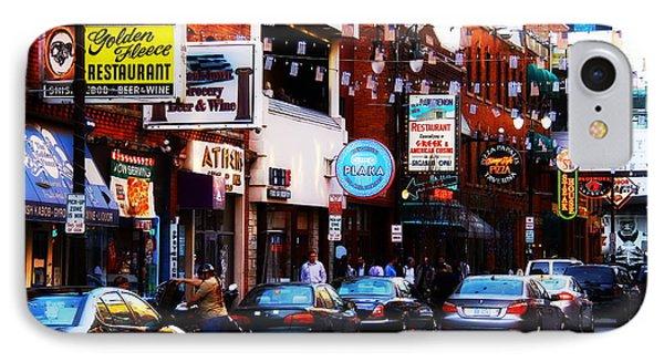 Historic Greek Town Detroit Michigan IPhone Case