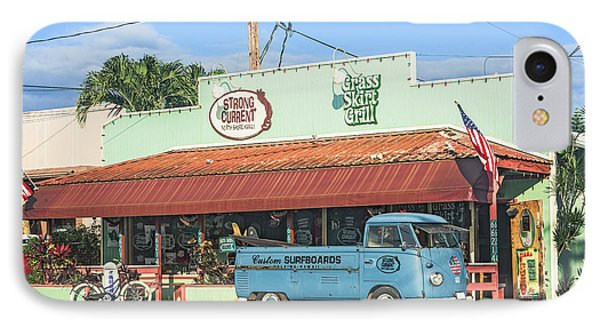Historic Haleiwa Surf Town On The North Shore Of Oahu IPhone Case by Aloha Art