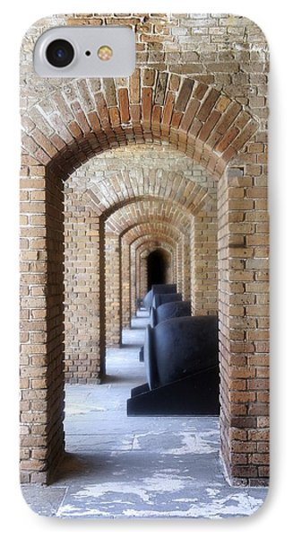 IPhone Case featuring the photograph Historic Hallway by Laurie Perry