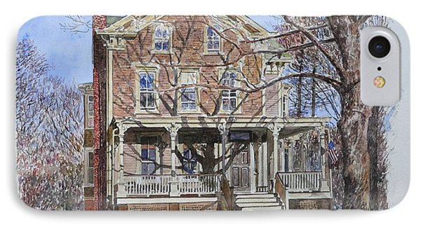 Historic Home Westifled New Jersey IPhone Case by Anthony Butera