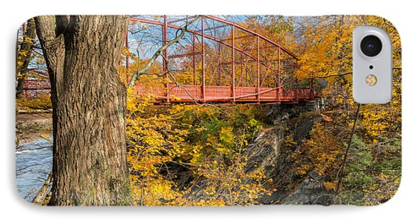 Historic Lovers Leap Bridge IPhone Case