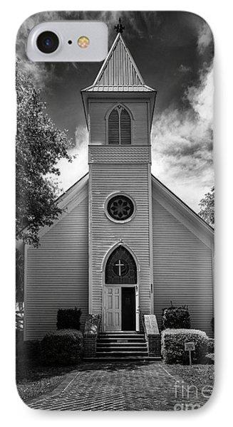 Historic Mcintosh Methodist Church Phone Case by Lynn Palmer