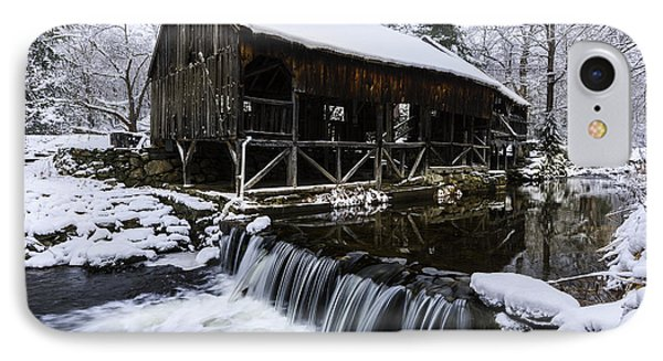 Historic Mill - Vintage 1800s IPhone Case by Thomas Schoeller