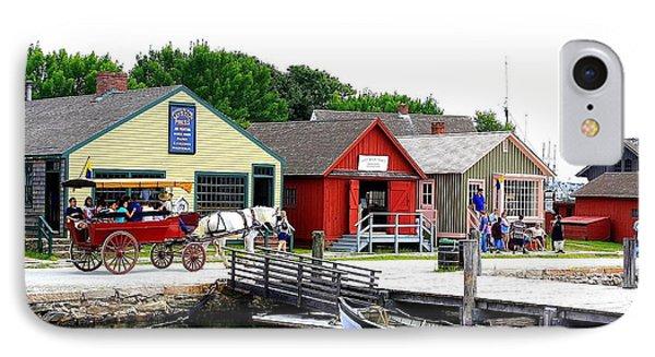 Historic Mystic Seaport IPhone Case