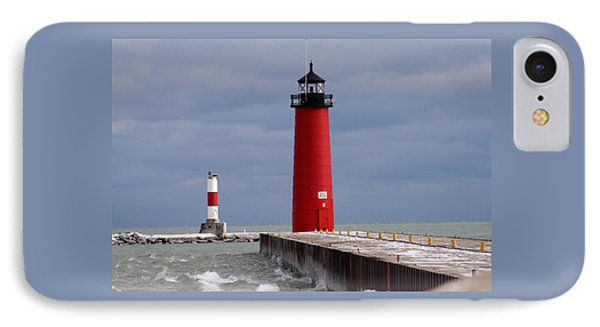 IPhone Case featuring the photograph Historic Pierhead Lighthouse by Kay Novy
