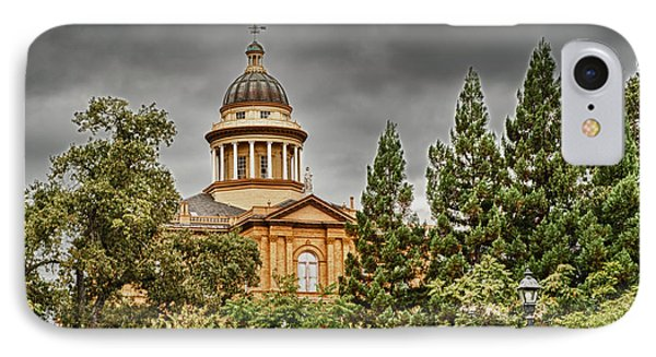 IPhone Case featuring the photograph Historic Placer County Courthouse by Jim Thompson