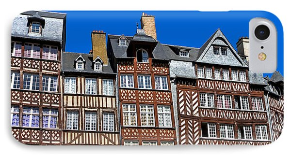 Historic Rennes Phone Case by Jane Rix