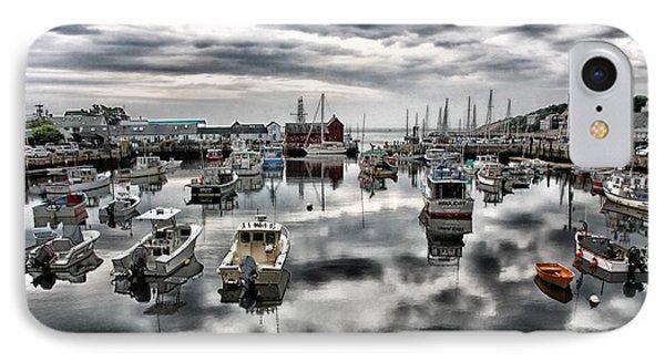 Historic Rockport Harbor IPhone Case by Stephen Stookey
