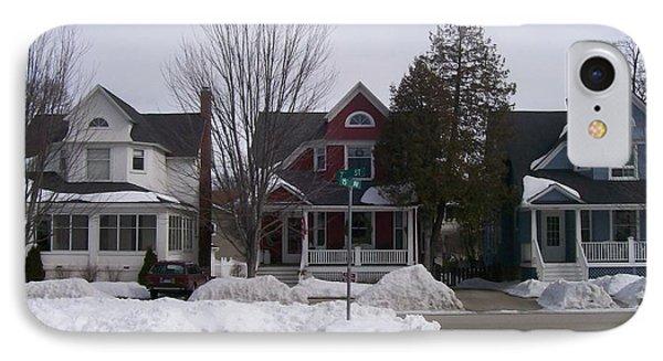 IPhone Case featuring the photograph Historic Seventh Street Menominee by Jonathon Hansen