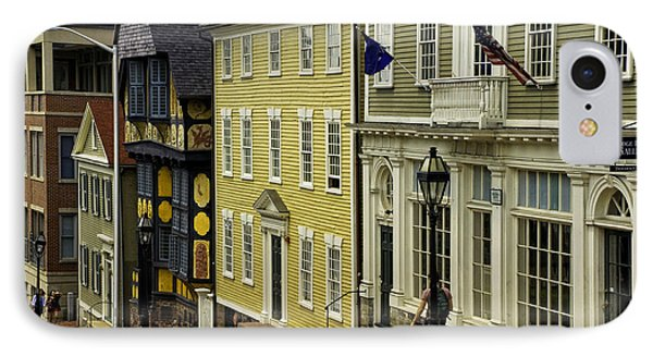 IPhone Case featuring the photograph Historic Street In Providence Ri by Nancy De Flon