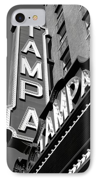 Historic Tampa IPhone Case by David Lee Thompson