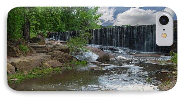 Historic Yates Mill Dam - Raleigh N C IPhone Case