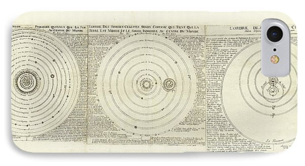 Historical Cosmologies IPhone Case by Library Of Congress, Geography And Map Division