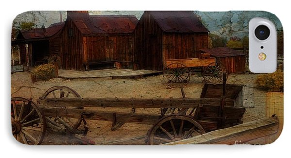 Historical Ferretto Ranch IPhone Case by Bobbee Rickard