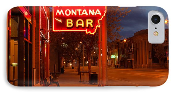 Historical Montana Bar IPhone Case
