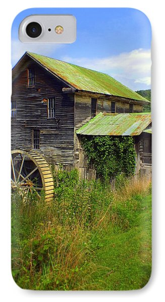 Historical Whites Mill Phone Case by Karen Wiles