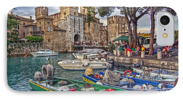 History At Lake Garda IPhone Case by Hanny Heim