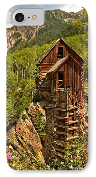 History In The Mountains Phone Case by Adam Jewell