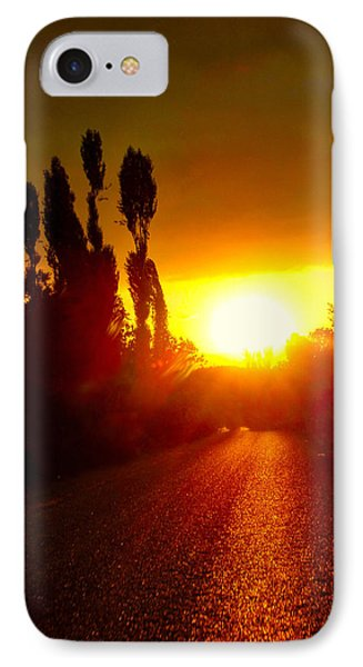 Hit The Road Jack IPhone Case by Zafer Gurel