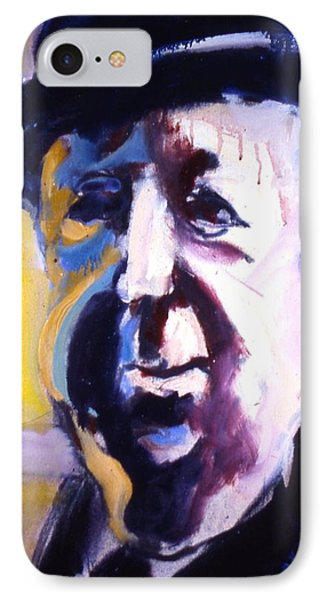 IPhone Case featuring the painting Hitch by Les Leffingwell