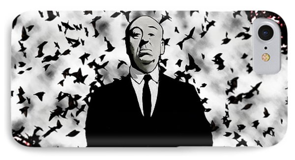 Hitchcock IPhone Case by Jeff DOttavio