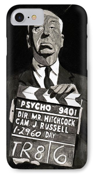 Hitchcock Phone Case by Rob Merriam