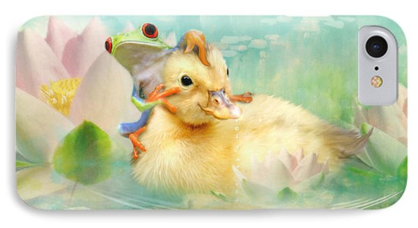 Hitching A Ride IPhone Case by Trudi Simmonds