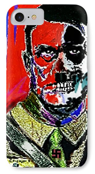 Hitler  - The  Face  Of  Evil IPhone Case