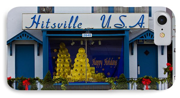Hitsville Usa IPhone Case by John McGraw