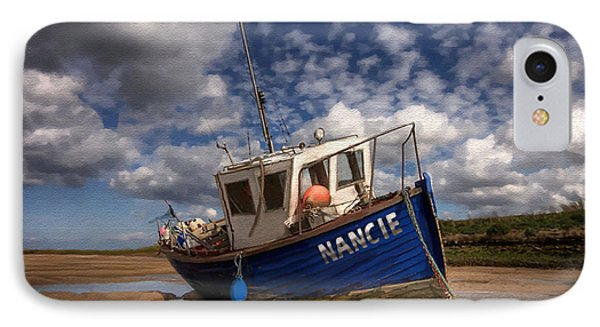 H.m.s. Nancie IPhone Case by Jann Paxton