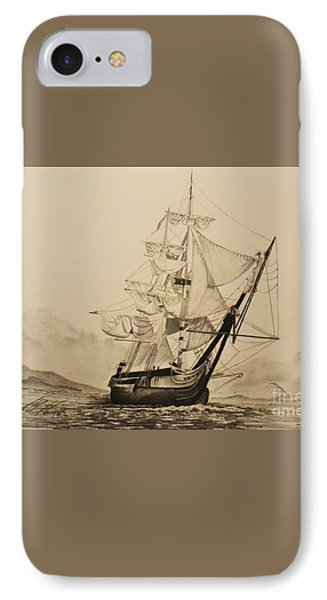 Hms Surprise Phone Case by John Huntsman