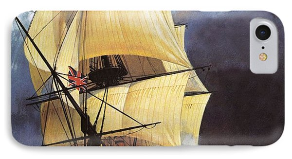 Hms Victory IPhone Case by Andrew Howat