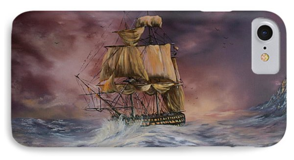 H.m.s Victory Phone Case by Jean Walker