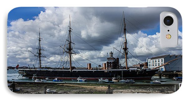 Hms Warrior Portsmouth Historic Docks IPhone Case
