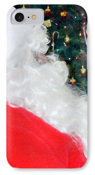 IPhone Case featuring the photograph Santa Claus by Vizual Studio