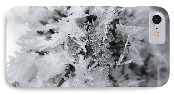 IPhone Case featuring the photograph Hoar Frost In November by Ryan Crouse