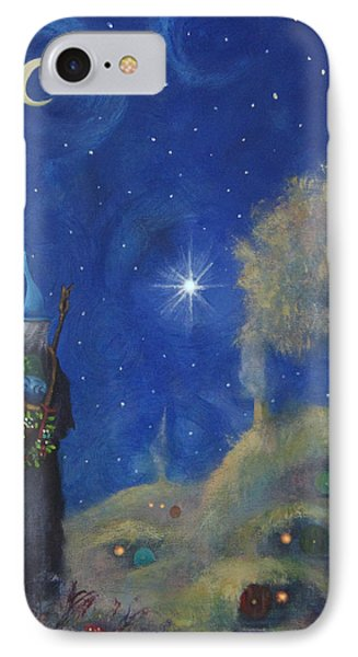 Hobbiton Christmas Eve IPhone Case by Joe Gilronan