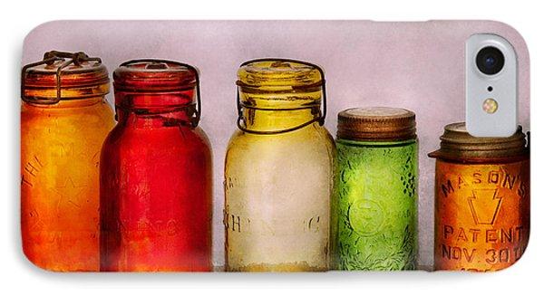 Hobby - Jars - I'm A Jar-aholic  Phone Case by Mike Savad