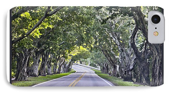 Hobe Sound Fl-bridge Street Banyans IPhone Case by Betty Denise