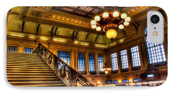Hoboken Terminal IPhone Case by Anthony Sacco