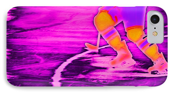 Hockey Freeze Phone Case by Karol Livote