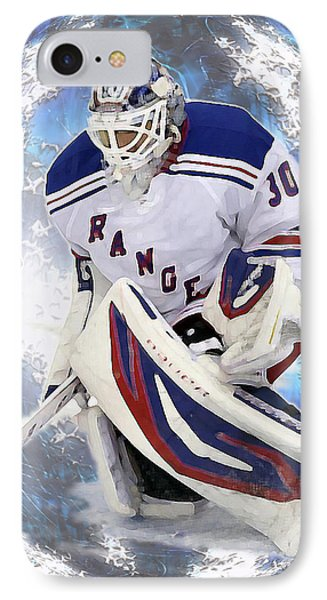 IPhone Case featuring the photograph Hockey Goalie by Barbara Giordano