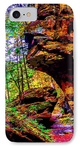 Hocking Hills Sphinx Head IPhone Case by Brian Stevens