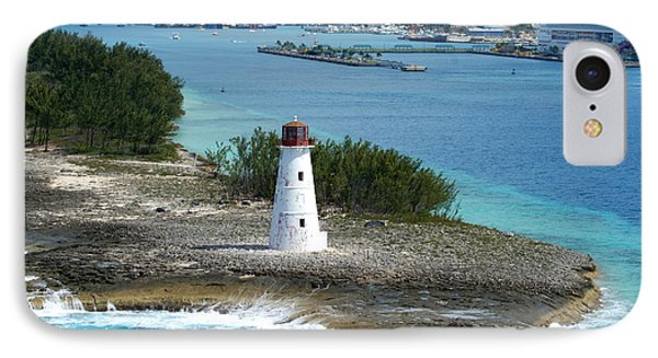 IPhone Case featuring the photograph Hog Island Lighthouse 2 by Lois Lepisto