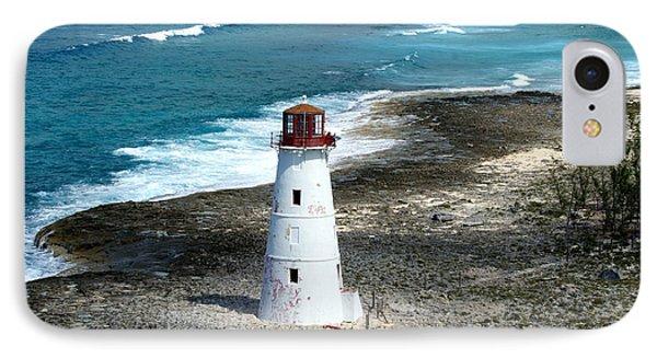 Hog Island Lighthouse IPhone Case by Lois Lepisto