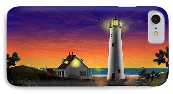 Hog Island Sunrise Phone Case by Patrick Belote