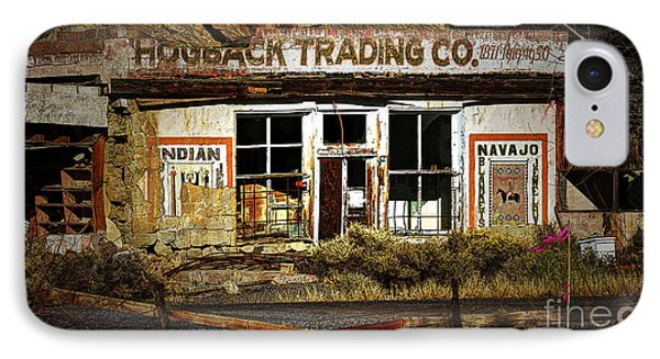 Hogback Trading Company IPhone Case by Bob Christopher
