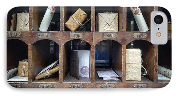 Hogsmeade Owl Post Office IPhone 7 Case by Edward Fielding
